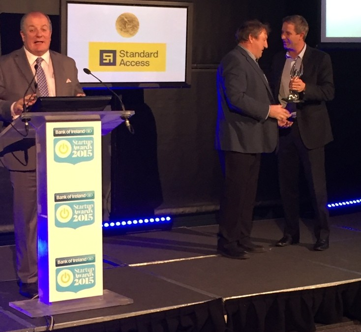 Standard Access takes Gold at the 2015 Bank Of Ireland Startup Awards